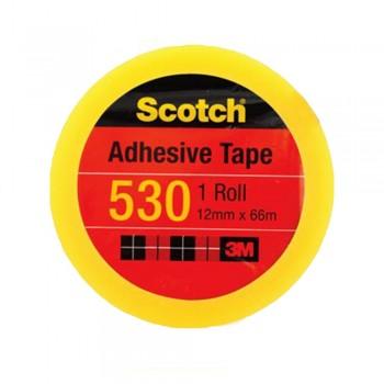 """3M Scotch 530 Tape 12mmx66m(3"""" core)"""