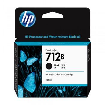 HP 712B 80ml Black DesignJet Ink Cartridge