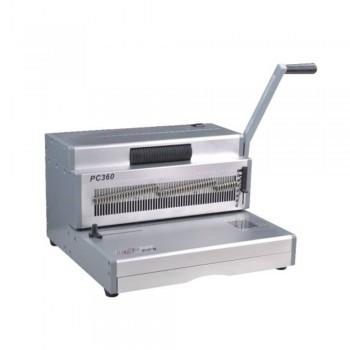 SUPU PC360X Manual Spiral Punching & Electric Inserting Machine