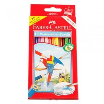 Faber Castell Watercolour Pencil 12L (Item No: B05-14) A1R2B142