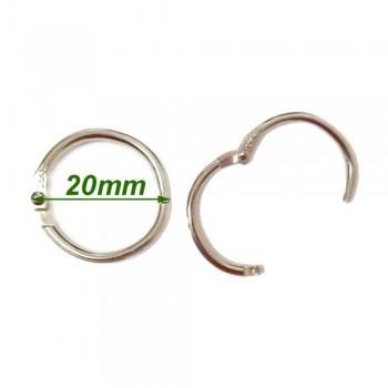 Card Ring 20mm 10pcs/pkt