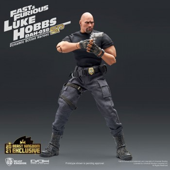 Universal : Dynamic 8ction Heroes : The Fast and the Furious - Luke Hobbs (Limited Edition Special)
