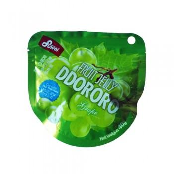 Fruit Jelly Ddororo (Grape) 40g
