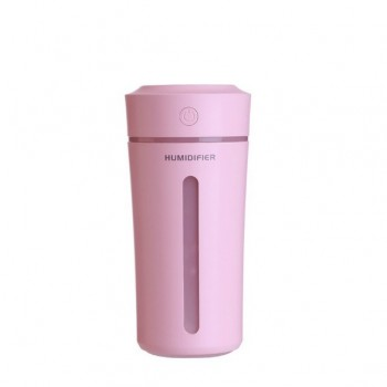 Ultrasonic Humidifier Color Cup Pink