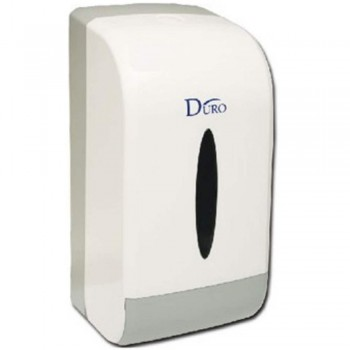 DURO Double Toilet Roll Dispen9006-W (Item No: F13-67)