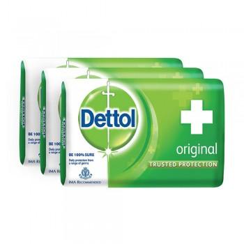 Dettol Body Soap Original 65g x 3's