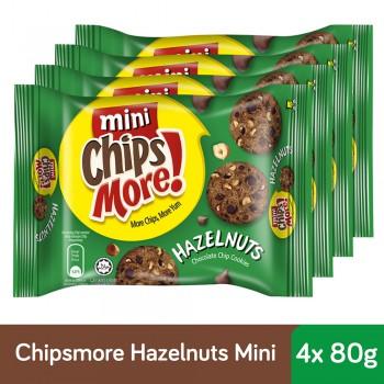 Chipsmore Hazelnuts Cookies (80g x 4)
