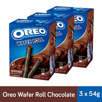 Oreo Wafer Roll Chocolate (54g x 3)