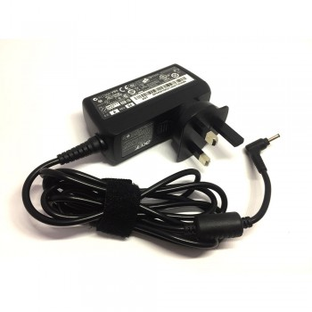 Acer AC Adapter Charger - 18W, 12V 1.5A, F2, 3.0X1.0mm for Acer Aspire One Series (PSA18R-120P)