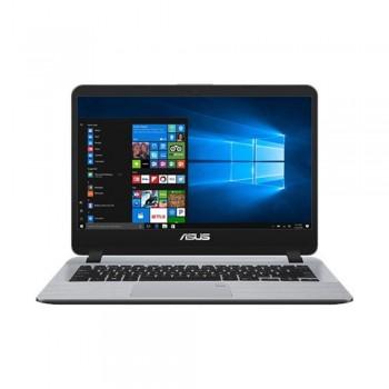 """Asus Vivobook A407U-ABV424T 14"""" HD Laptop - i3-8130U, 4gb ddr4, 256gb ssd, Intel, W10, Grey"""