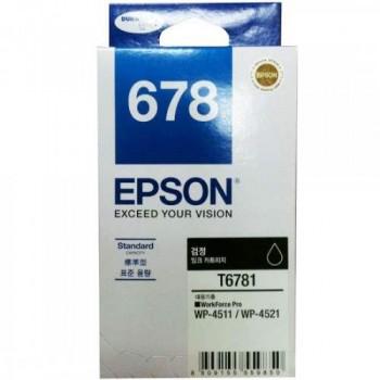 Epson 678 Black Ink Cartridge Standard Capacity - 2.4k (C13T678190)