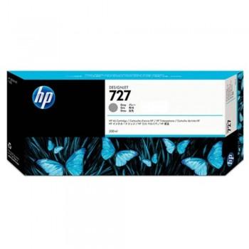 HP 727 300-ml Gray DesignJet Ink Cartridge (F9J80A)