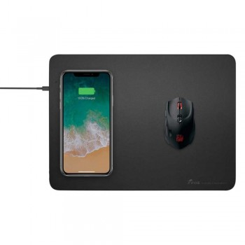 Innoz® QI10W Wireless Fast Charging Mouse Pad - Gray