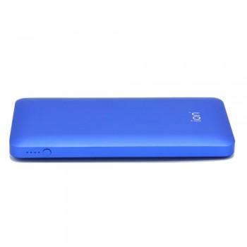 Ion PQ72 Qualcomm Quick Charge 3.0 5.4A 30W Dual USB 10000mAh Ultra-Slim, Racing Blue
