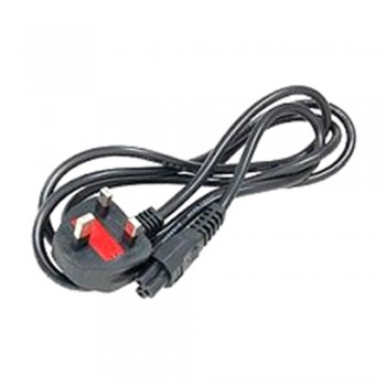 3 Pin Notebook Power Cord Cable with Fuse 1.5m