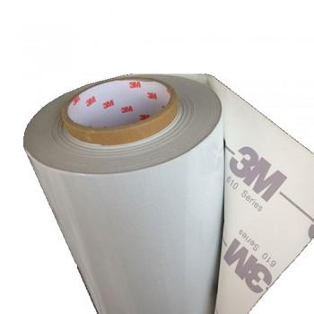 3M-610W (24inch x 50yard) Reflective Sticker (White-Printable)