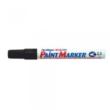 Artline 400XF Paint Marker Pen - 2.3mm Bullet Nib - Black