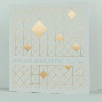 Letterpress Card - Hari Raya: Salam Aidilfitri