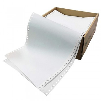 """Computer Form 2 ply NCR 9.5"""" x 11"""" - (1000 Fans)"""