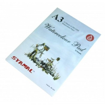 Syamal Syamatra A3 Drawing Block - 10 Sheets 200gsm (Item No: B05-77) A1R2B205
