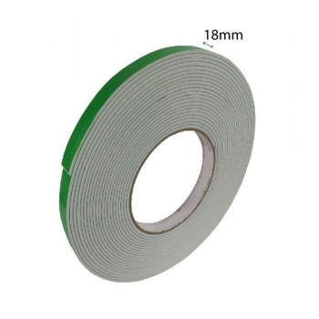 Double Sided Eva Foam Tape (White) - 18mm X 8m