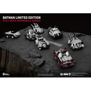 Batman : Pull Back Mobile Car Series Special Limited Edition Set