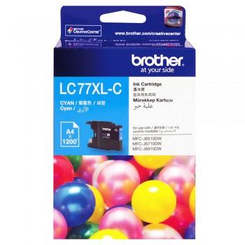 Brother LC-77XL Cyan Ink Cartridge