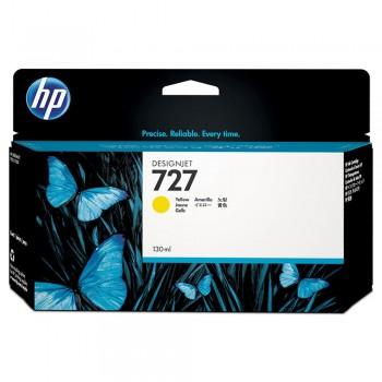 HP 727 130-ml Yellow Designjet Ink Cartridge (B3P21A)