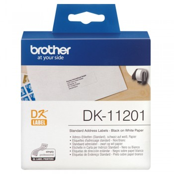 Brother DK11201 Standard Address Label - 29mm x 90mm